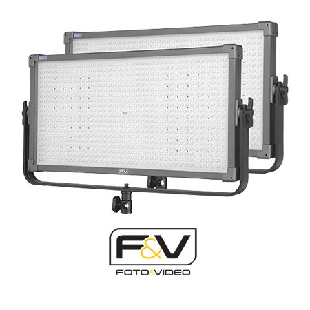 2'li F&V K8000S Plus Bi-Color LED Işık Seti