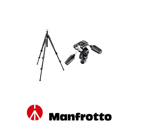 Manfrotto 190X PROB + 804 RC2 Kafa